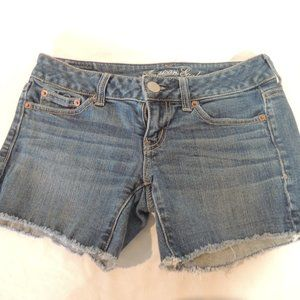 American Eagle womens Jean shorts 0
